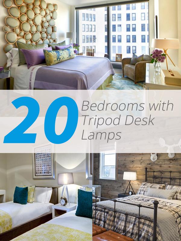 tripod desk bedrooms