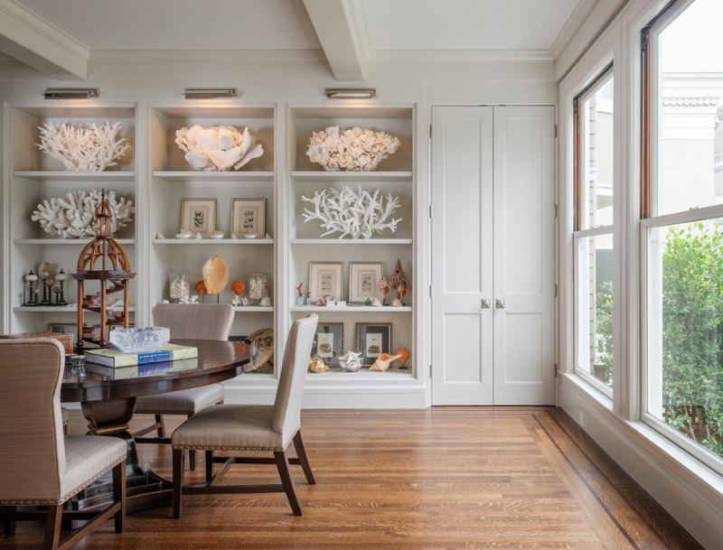 25 awesome shelving in the dining room | home design lover