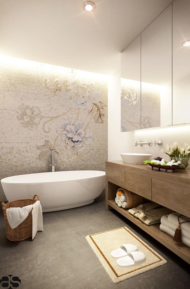 Floral Bathroom