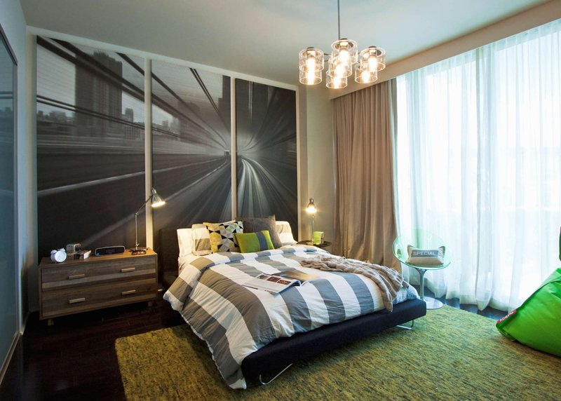 20 refreshing grey and green bedrooms | home design lover