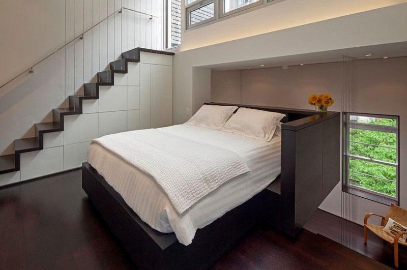 Manhattan Microloft bedroom