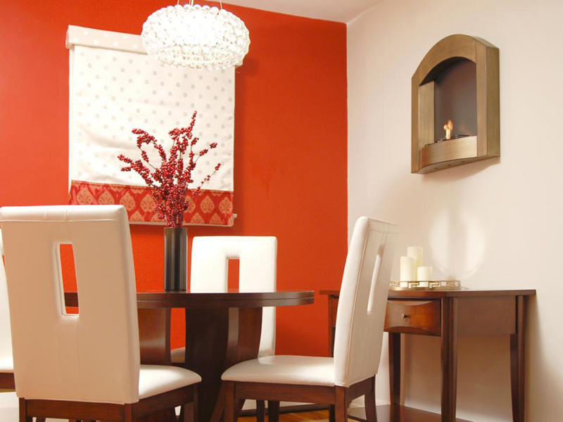 20 fab red accent walls in dining rooms | home design lover