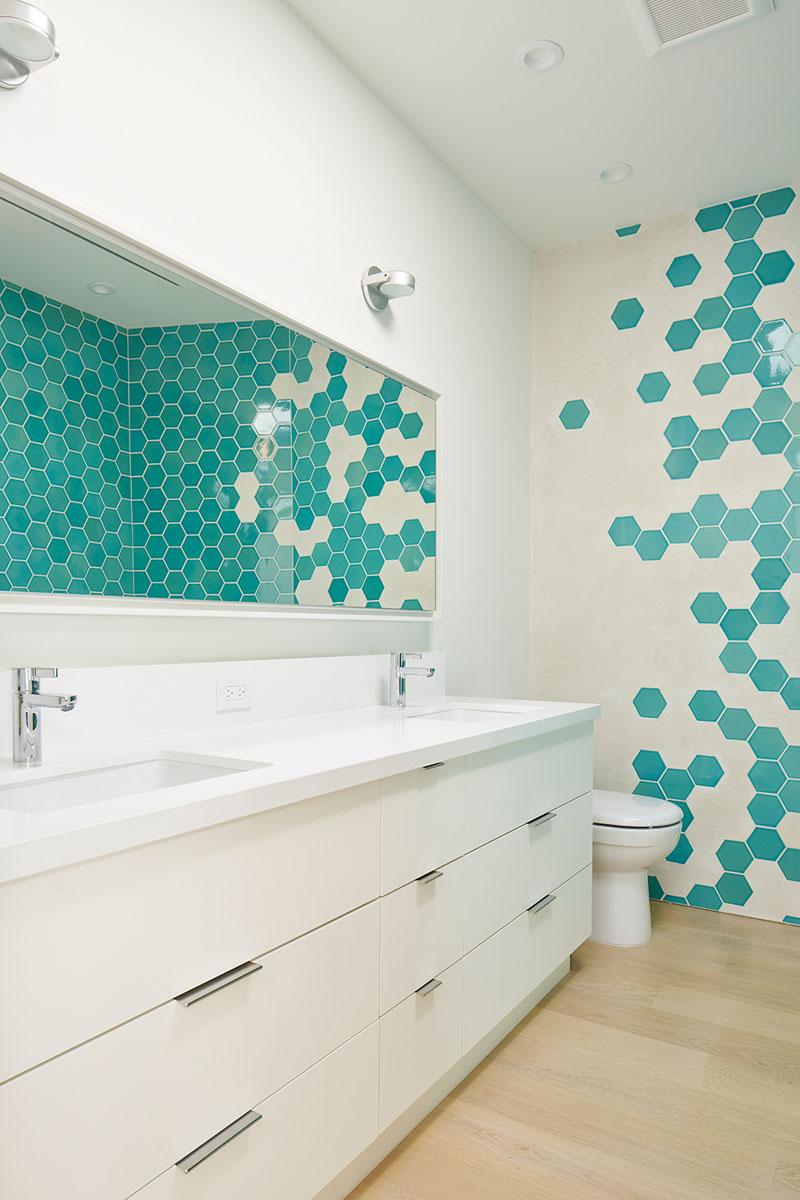 Urban Oasis bathroom tiles