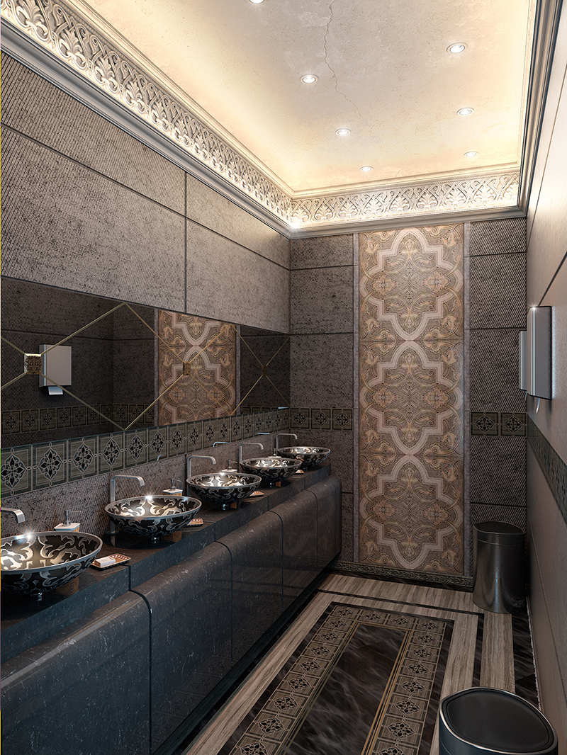 Washing Room Near Mans Majlis