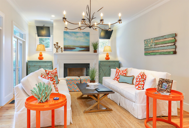22 Beach Themed Home Decor in the Living Room Home Design Lover