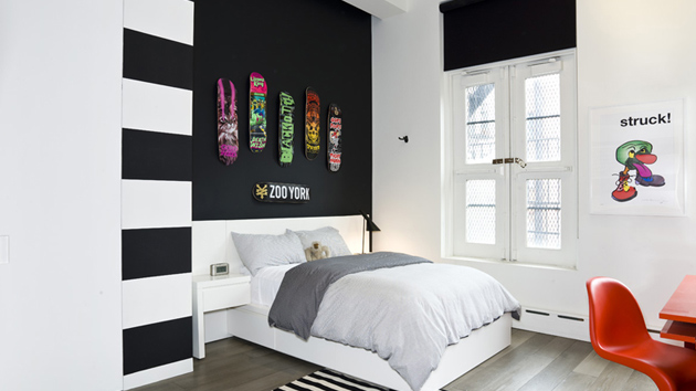 20 beautiful black accent walls in different bedrooms   home