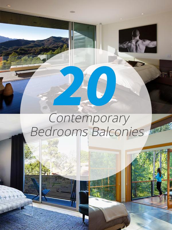 bedroom balconies
