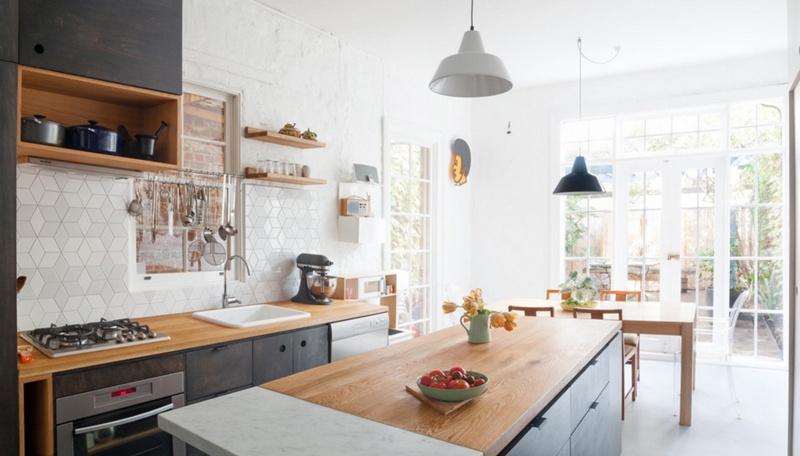 20 Geometric Backsplash Tiles In The Kitchen | Home Design Lover