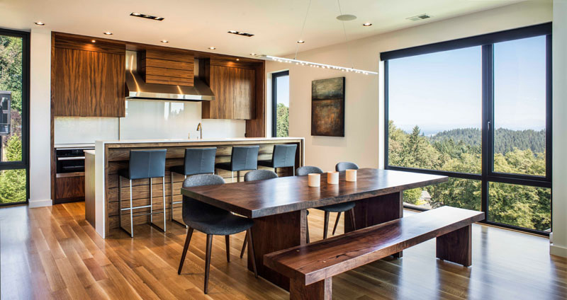 The Music Box Residence kitchen and dining