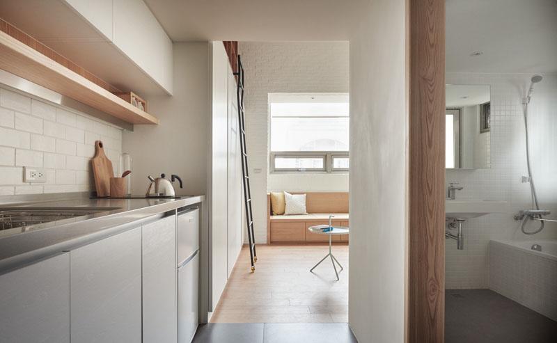 loft apartment hallway