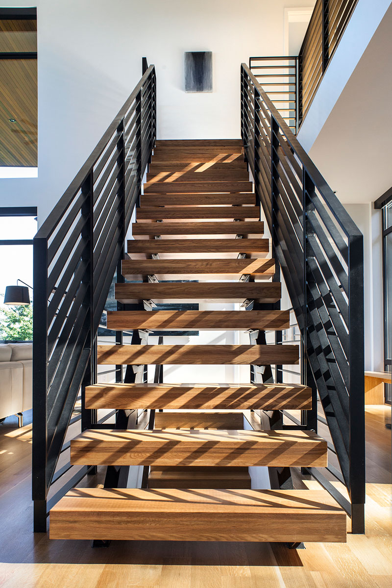 The Music Box Residence stairs