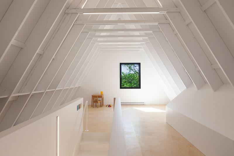 Black Cabin attic