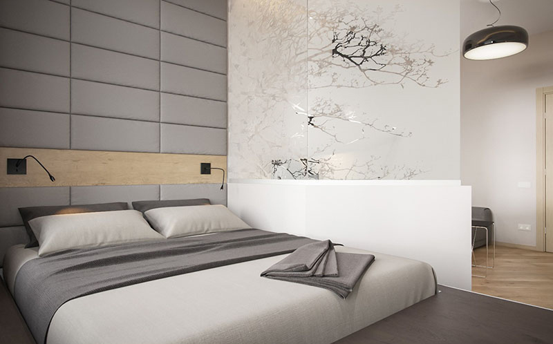 Small apartment bed