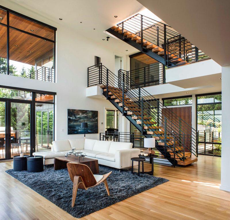 The Music Box Residence living room