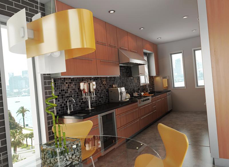 Industrial Kitchen By Salvatore Tinervia
