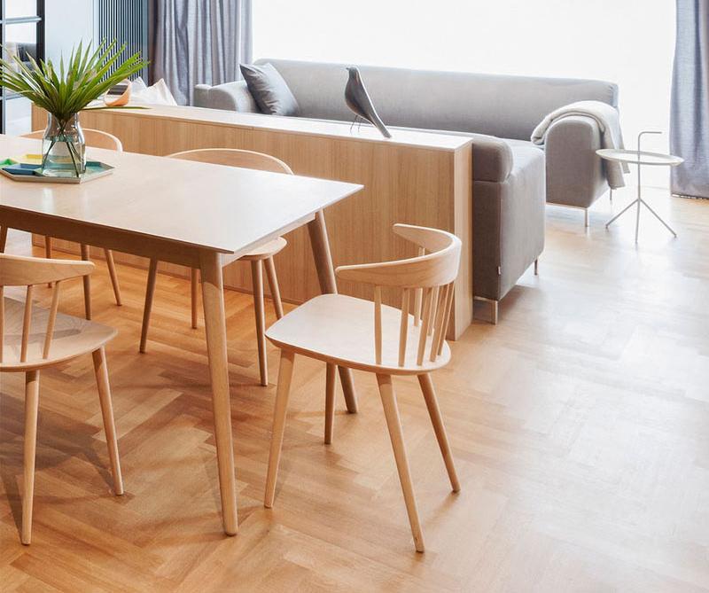 Apartment M living room