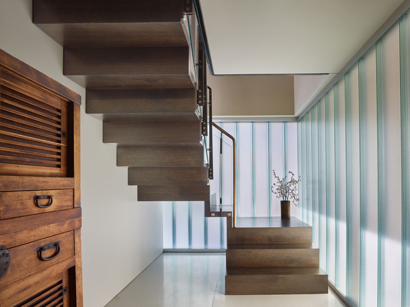 Floating House stair