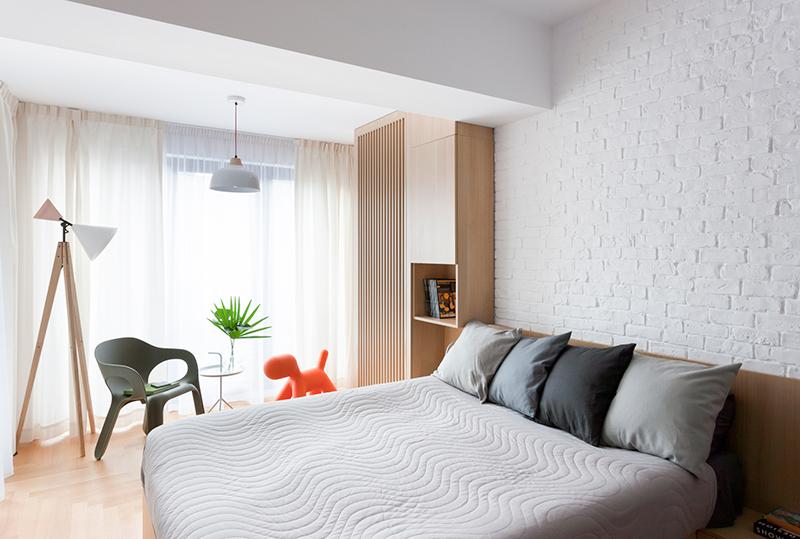 Apartment M bedroom