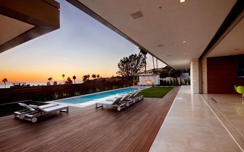 McLeroy Residence swimming pool
