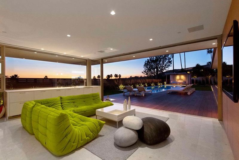 McLeroy Residence living room