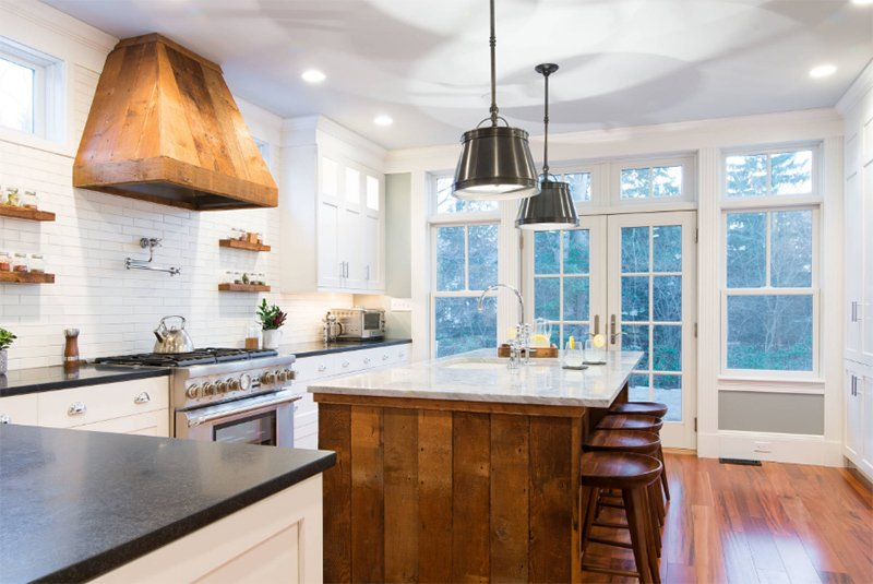 Rustic Modern Chef's Kitchen