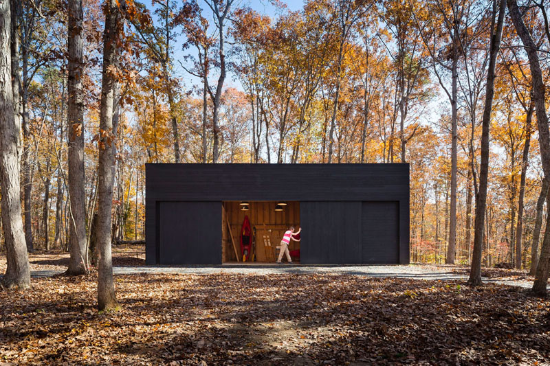 James River House shed