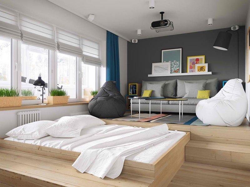 Igralnaya bed
