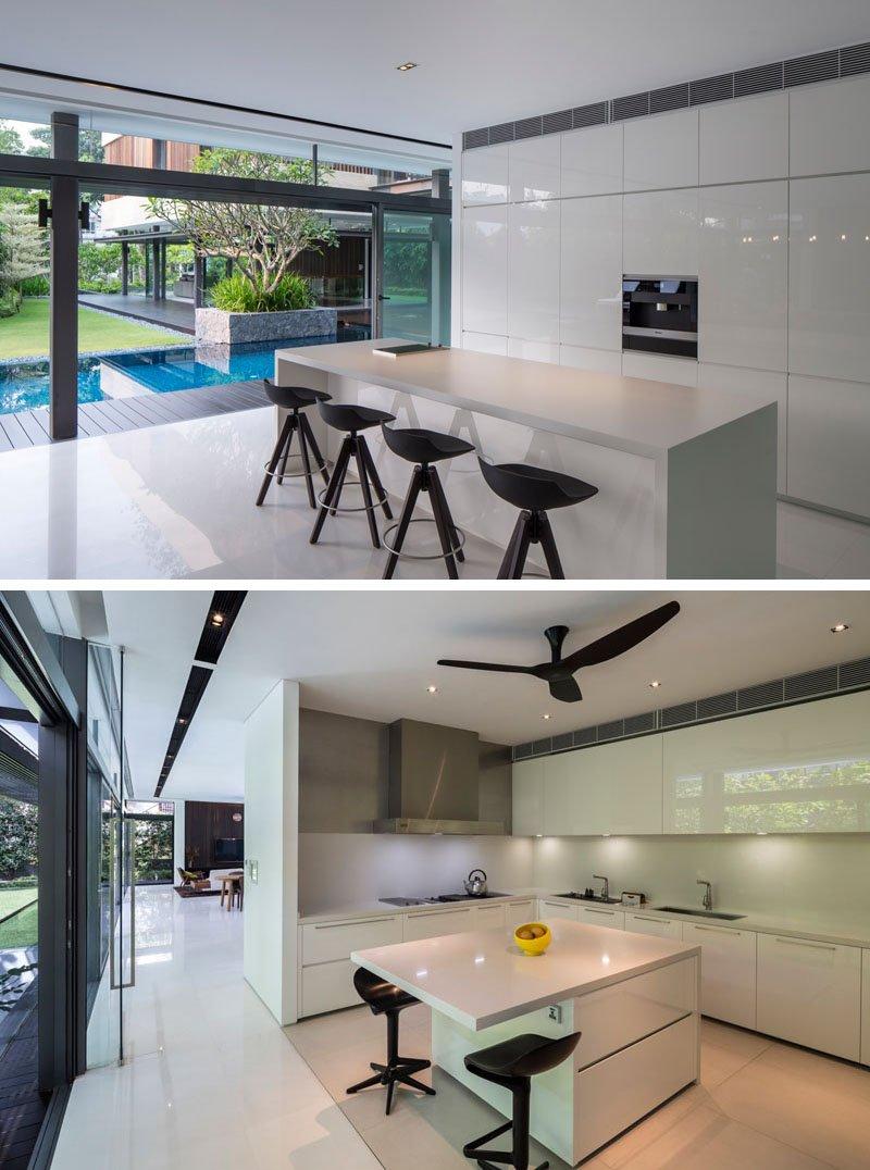 Secret Garden House kitchen