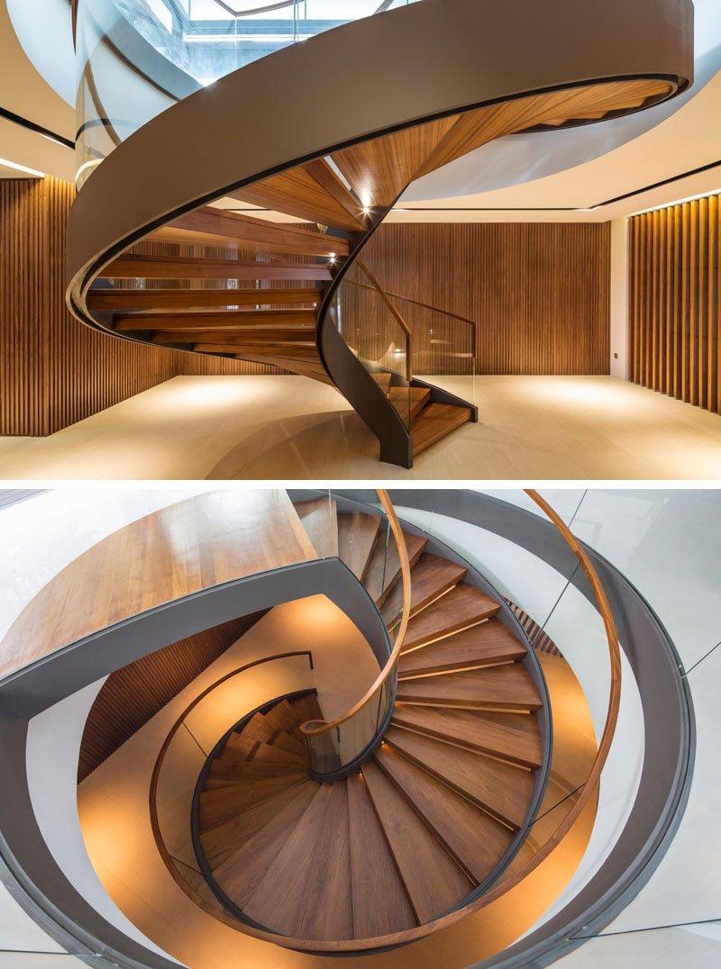 Secret Garden House staircase