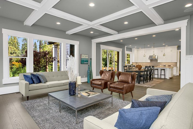 Greater Seattle Area | The Parthenon Living Room