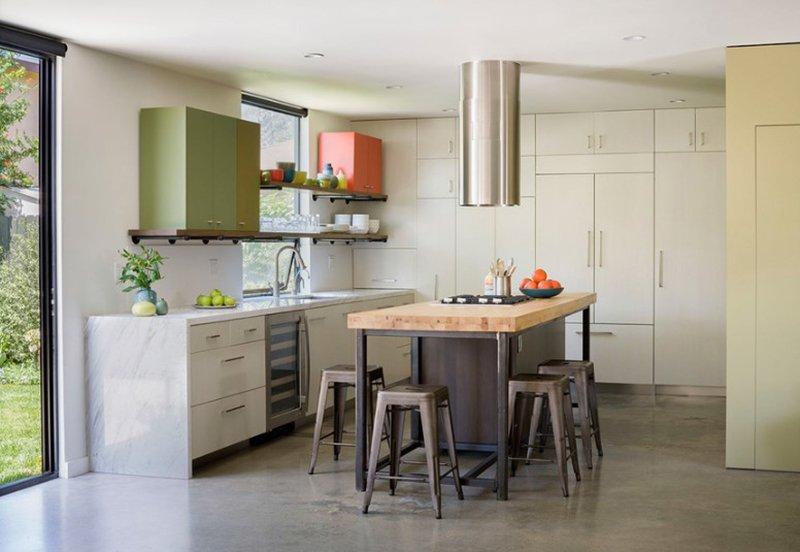Baldwin Duplex kitchen