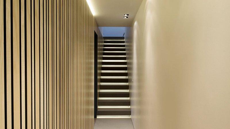 hidden kitchen staircase