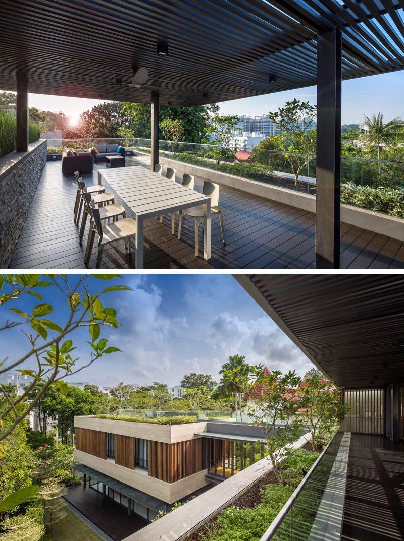 Secret Garden House deck