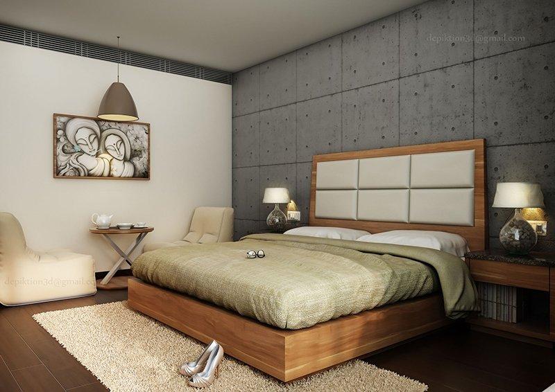 Bedroom Rendering 7