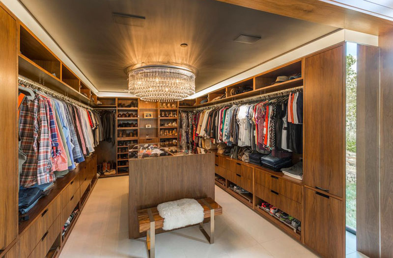 Cherry Hills Village Colorado walk-in closet