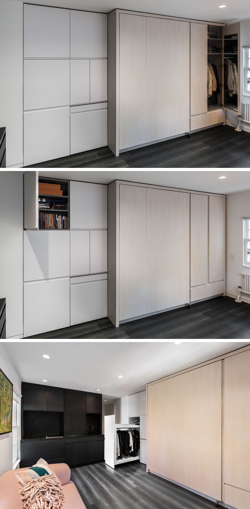 Image Result For West Village Micro Apartment Turns Into A Multi Functional Home