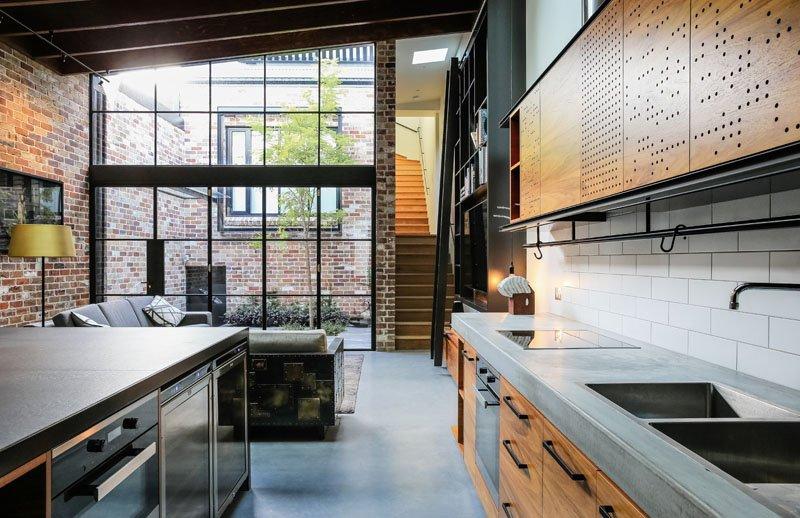 Darlinghurst Warehouse living width=
