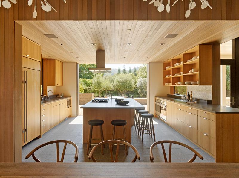 Wine Country Farmhouse kitchen