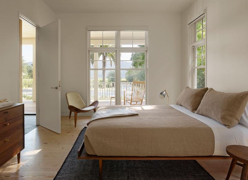Wine Country Farmhouse bedroom