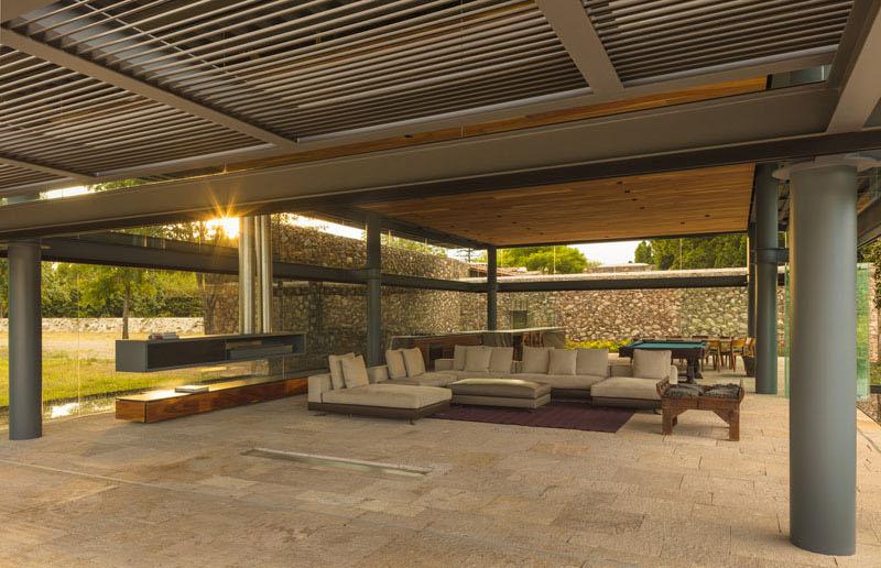 Hacienda El Barreno Visitors Pavilion floor plan