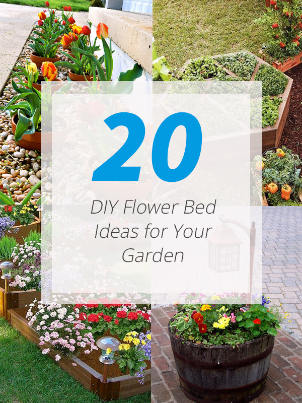 20 diy flower bed ideas for your garden home design lover for Home flower garden designs