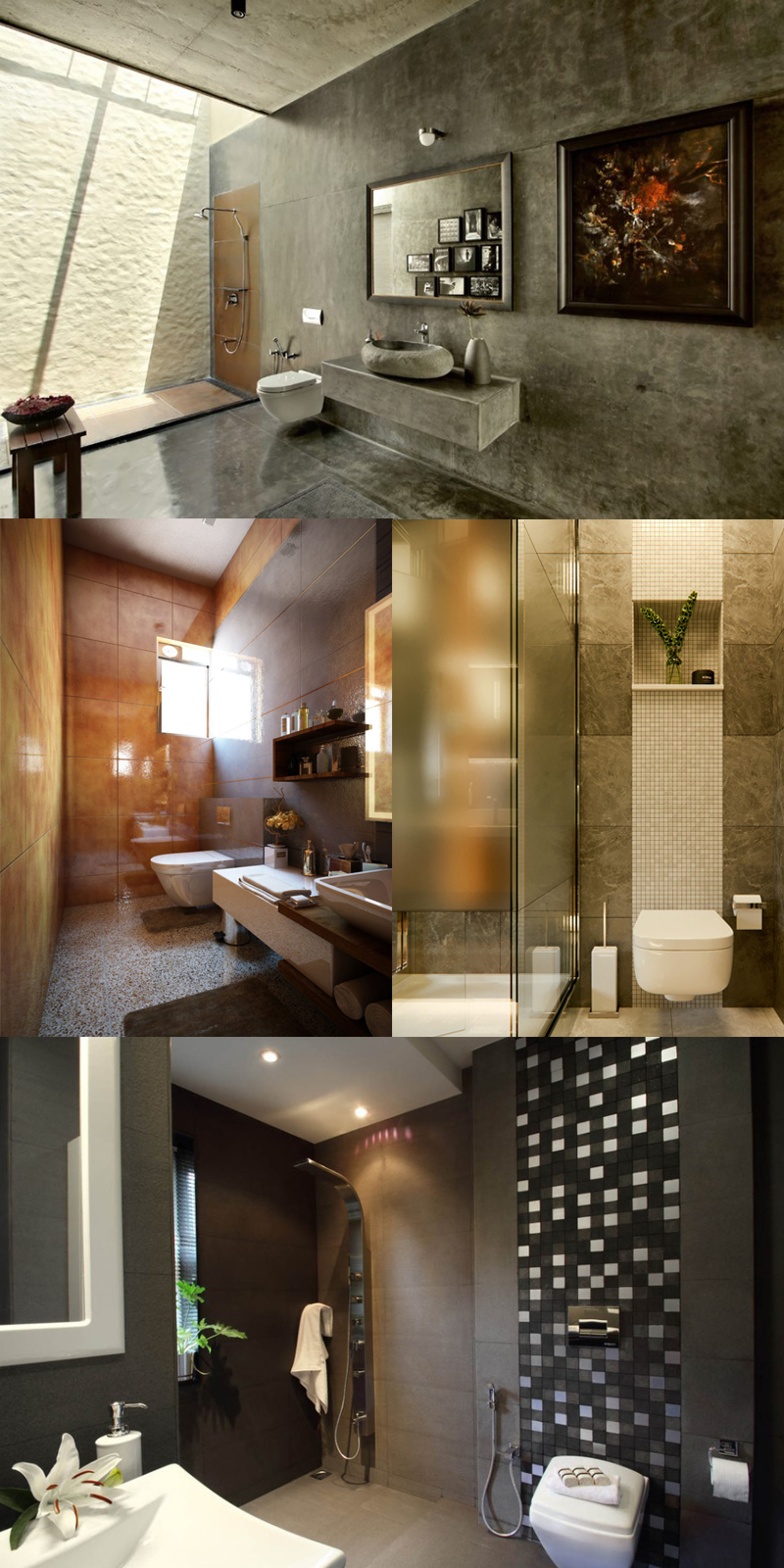20 Modern Bathrooms With Wall Mounted Toilets Home