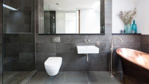 20 modern bathrooms with wall mounted toilets - Home Design Lover