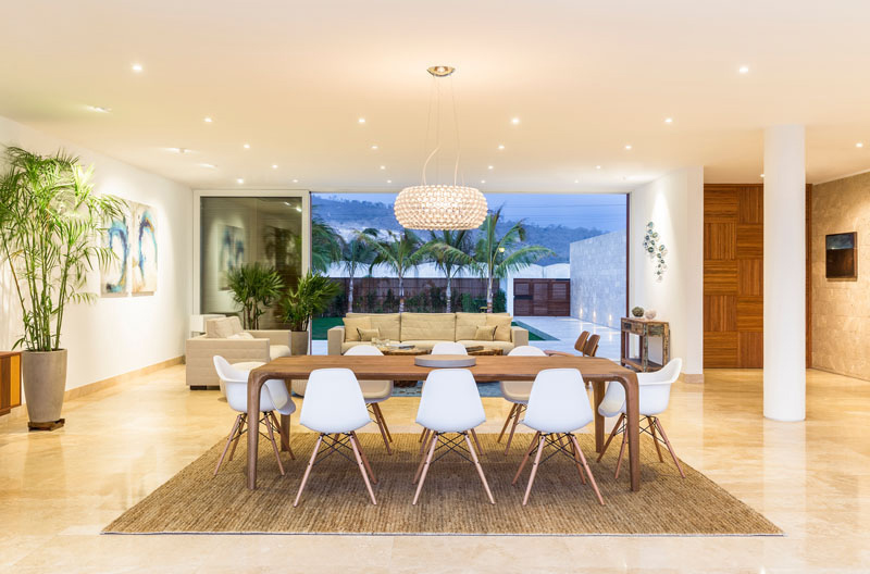 Casa Puerto Cayo view modern home in ecuador