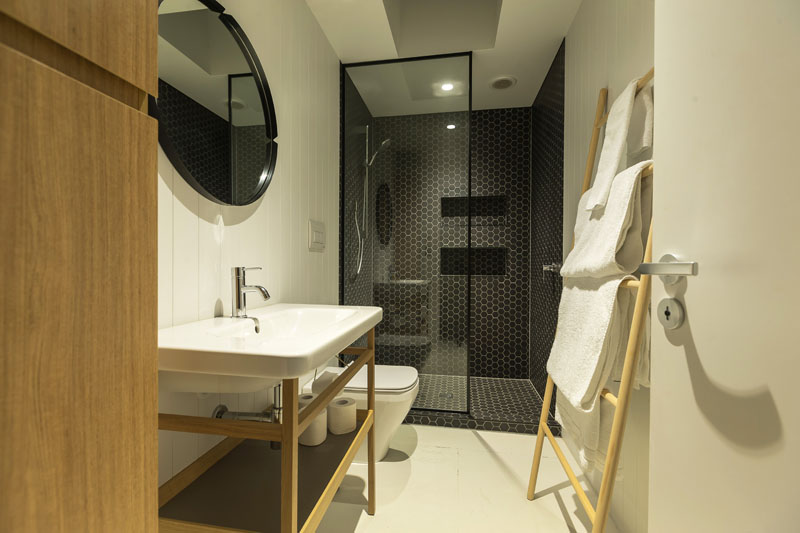 Waiheke bathroom and shower