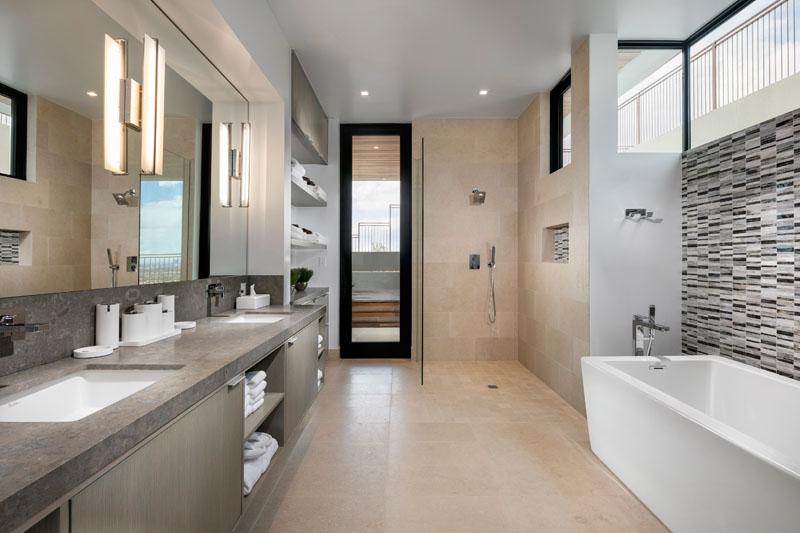 SB modern master bathroom