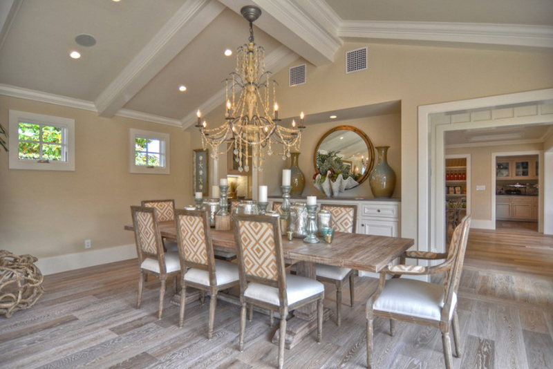 22 dining rooms with wooden flooring home design lover for 1512 dolphin terrace