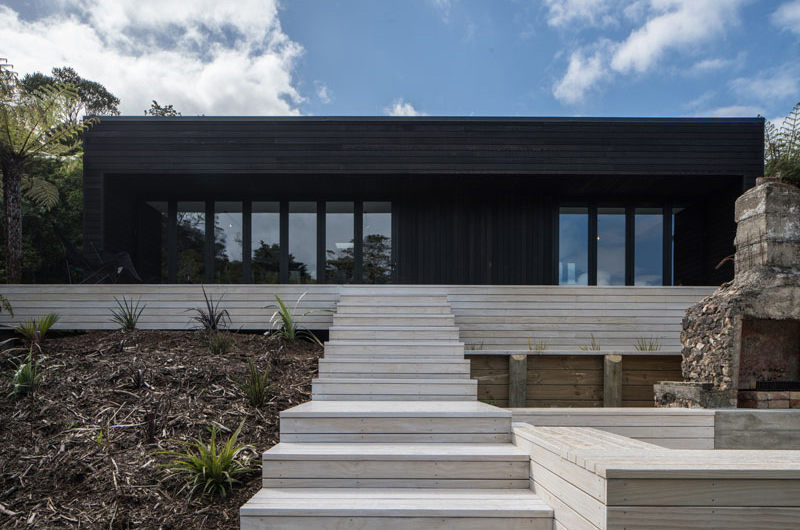 Waiheke House Design A Touch Of Simplicity And Style
