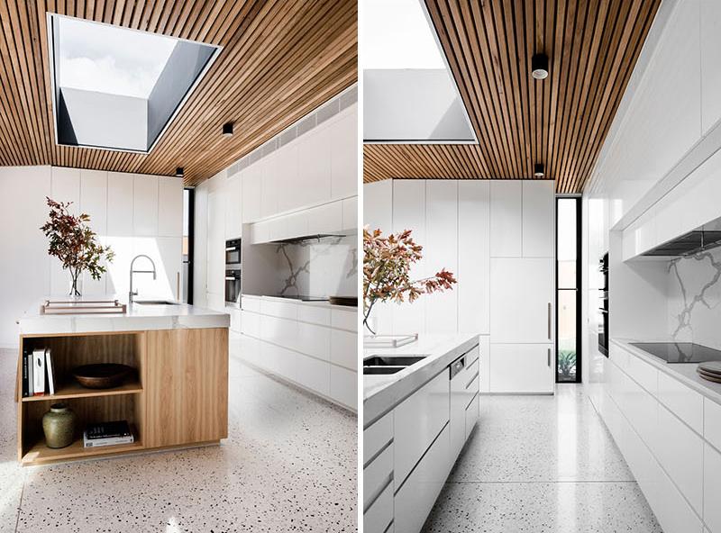 Courtyard House kitchen