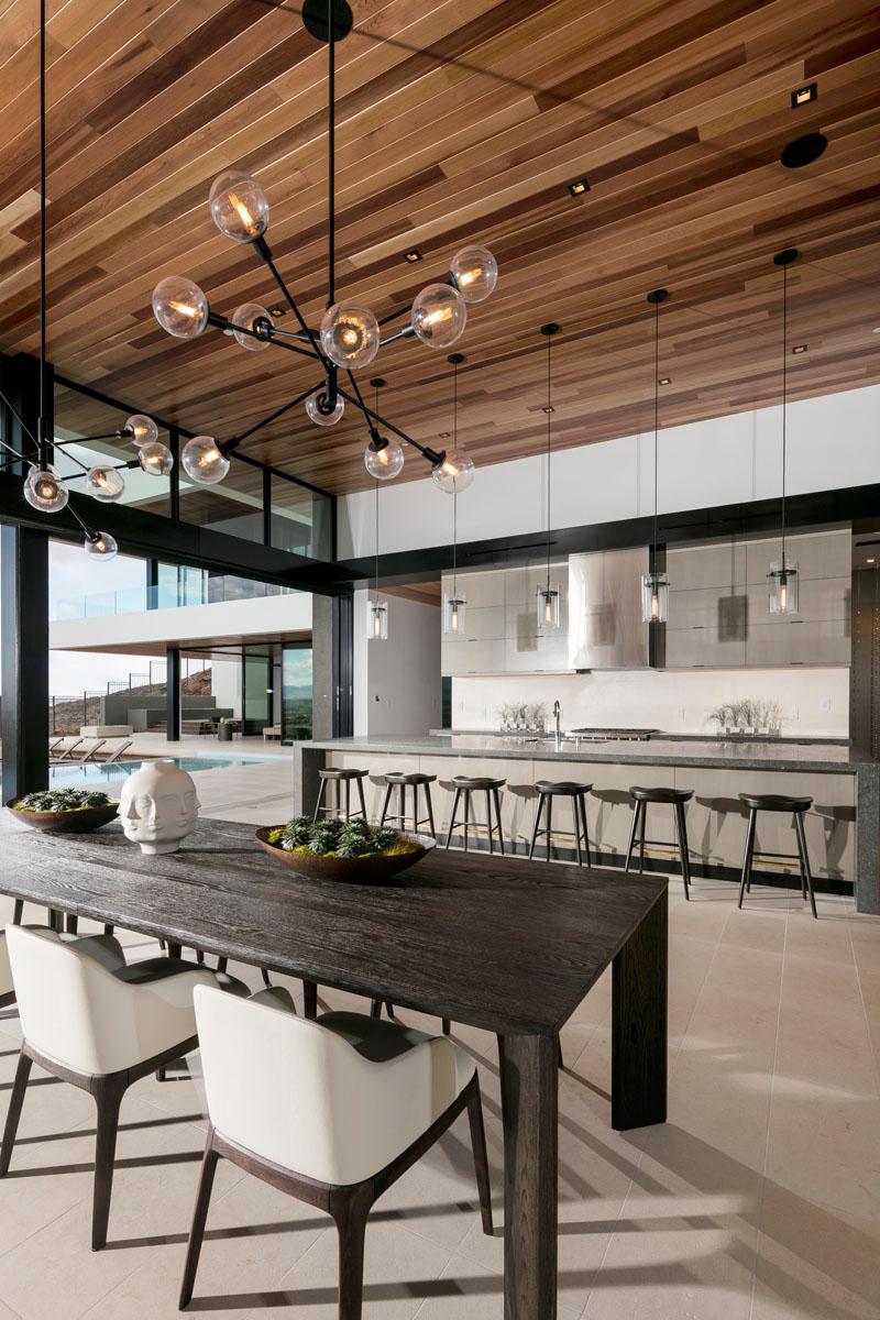 SB modern dining room